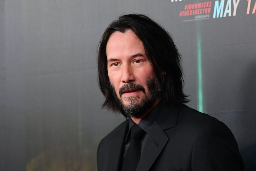 Keanu Reeves attends the John Wick: Chapter 3 world premiere in New York City