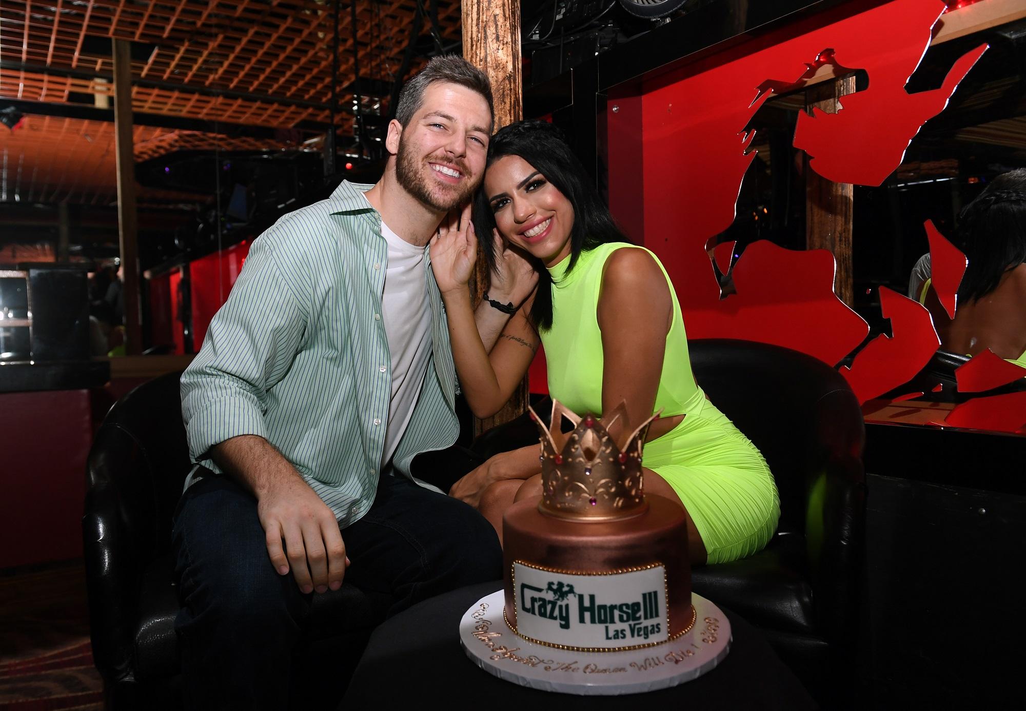 Eric Nichols and Larissa Dos Santos Lima of 90 Day Fiancé