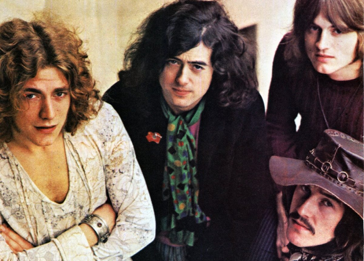 Led Zeppelin in 1969