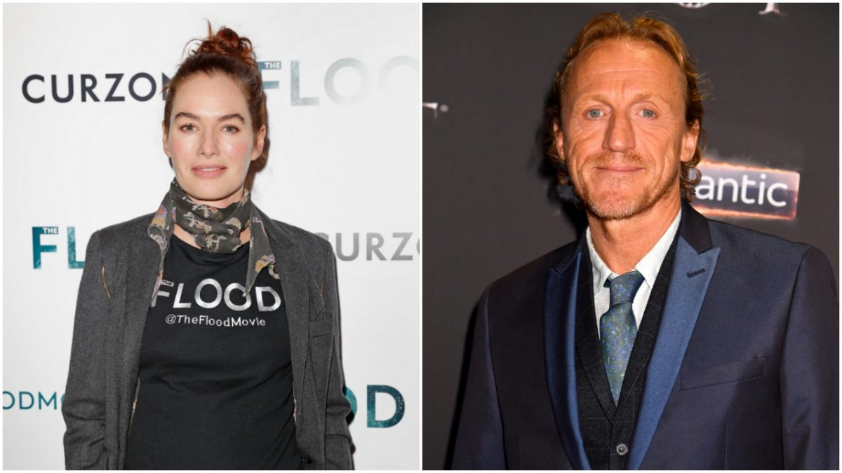 Lena Headey and Jerome Flynn