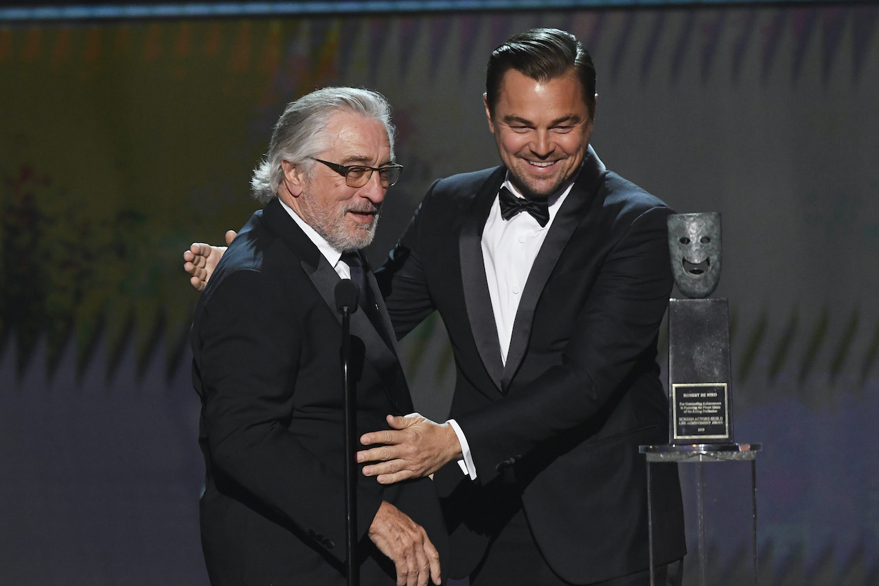 Robert De Niro and Leonardo DiCaprio