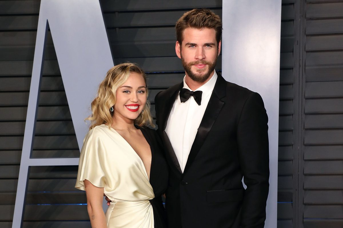 Miley Cyrus and Liam Hemsworth on March 4, 2018