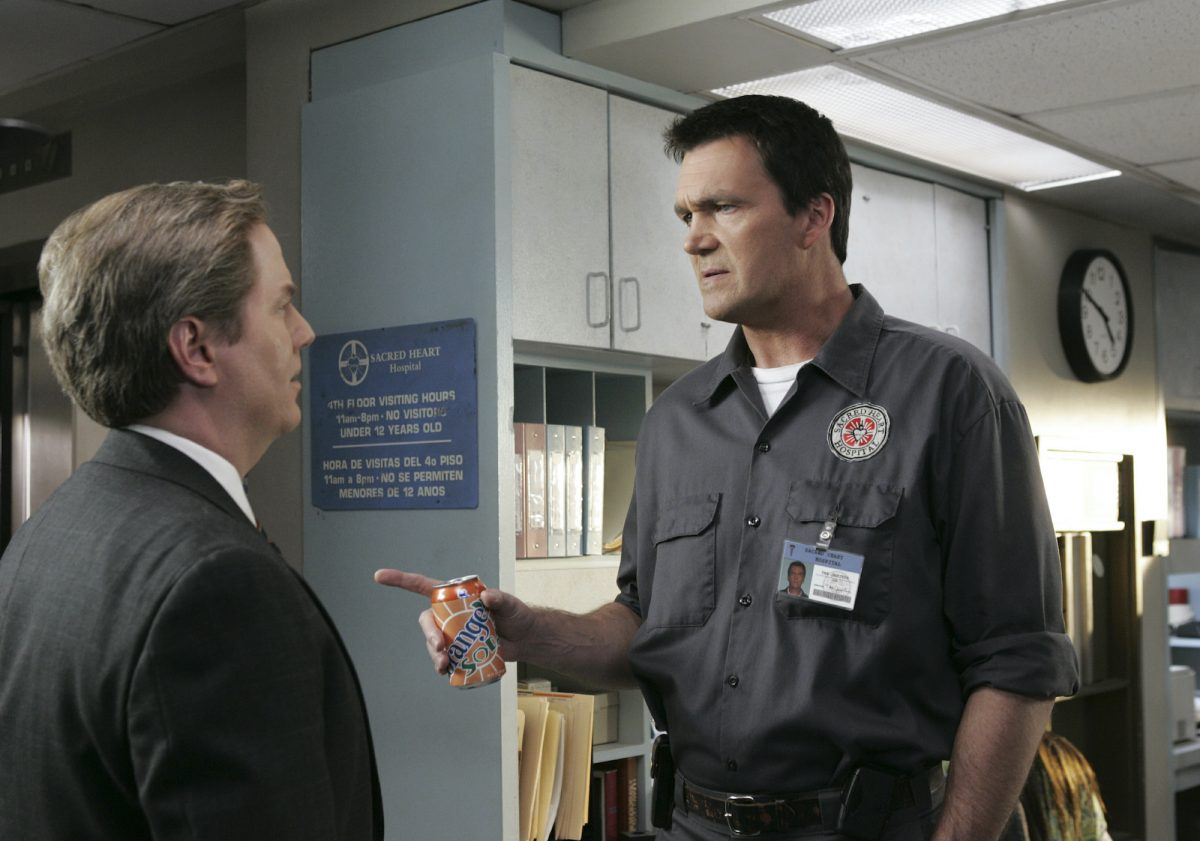 Neil Flynn as the Janitor