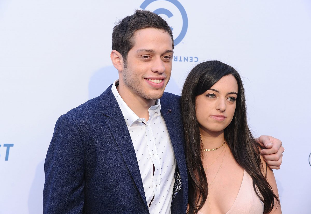 Pete Davidson and Cazzie David attend the Comedy Central Roast of Rob Lowe at Sony Studios on August 27, 2016, in Los Angeles, California.