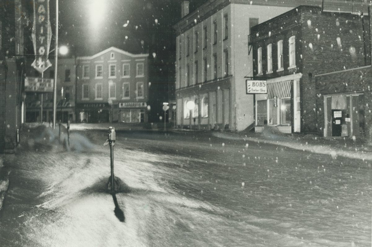 Port Hope in worst floods to hit the town in memory