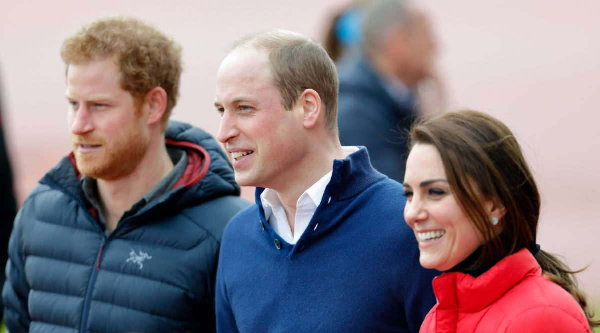 Prince Harry, Prince William, and Kate Middleton join a Team Heads Together London Marathon Training Day at the Queen Elizabeth Olympic Park on February 5, 2017