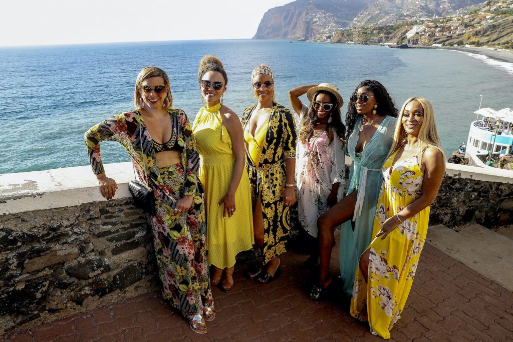 The 'RHOP' cast during their trip to Portugal