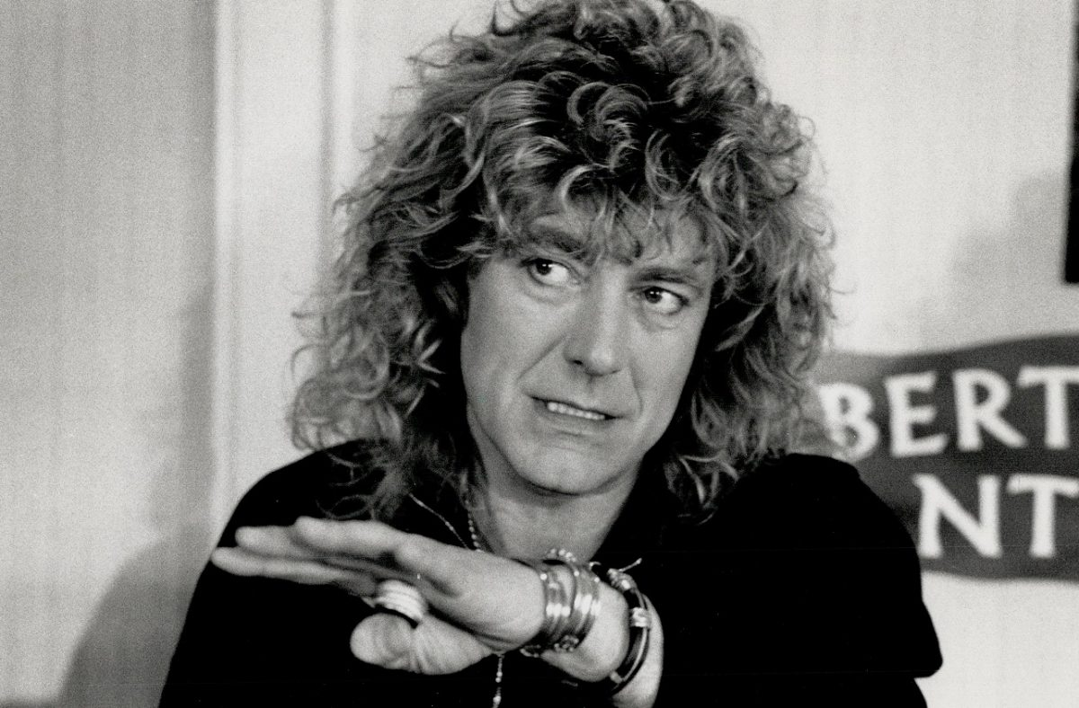 Robert Plant in the '80s