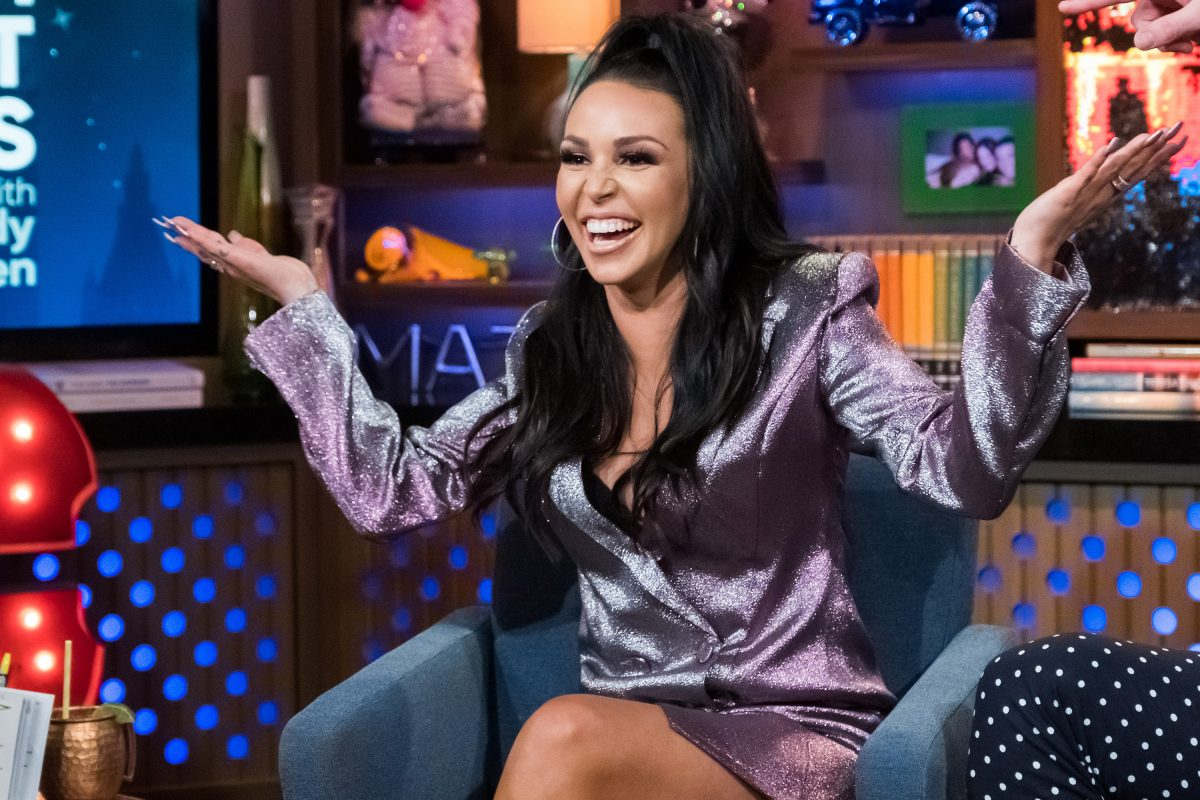 'Vanderpump Rules' star Scheana Shay on 'Watch What Happens Live' on April 22, 2019