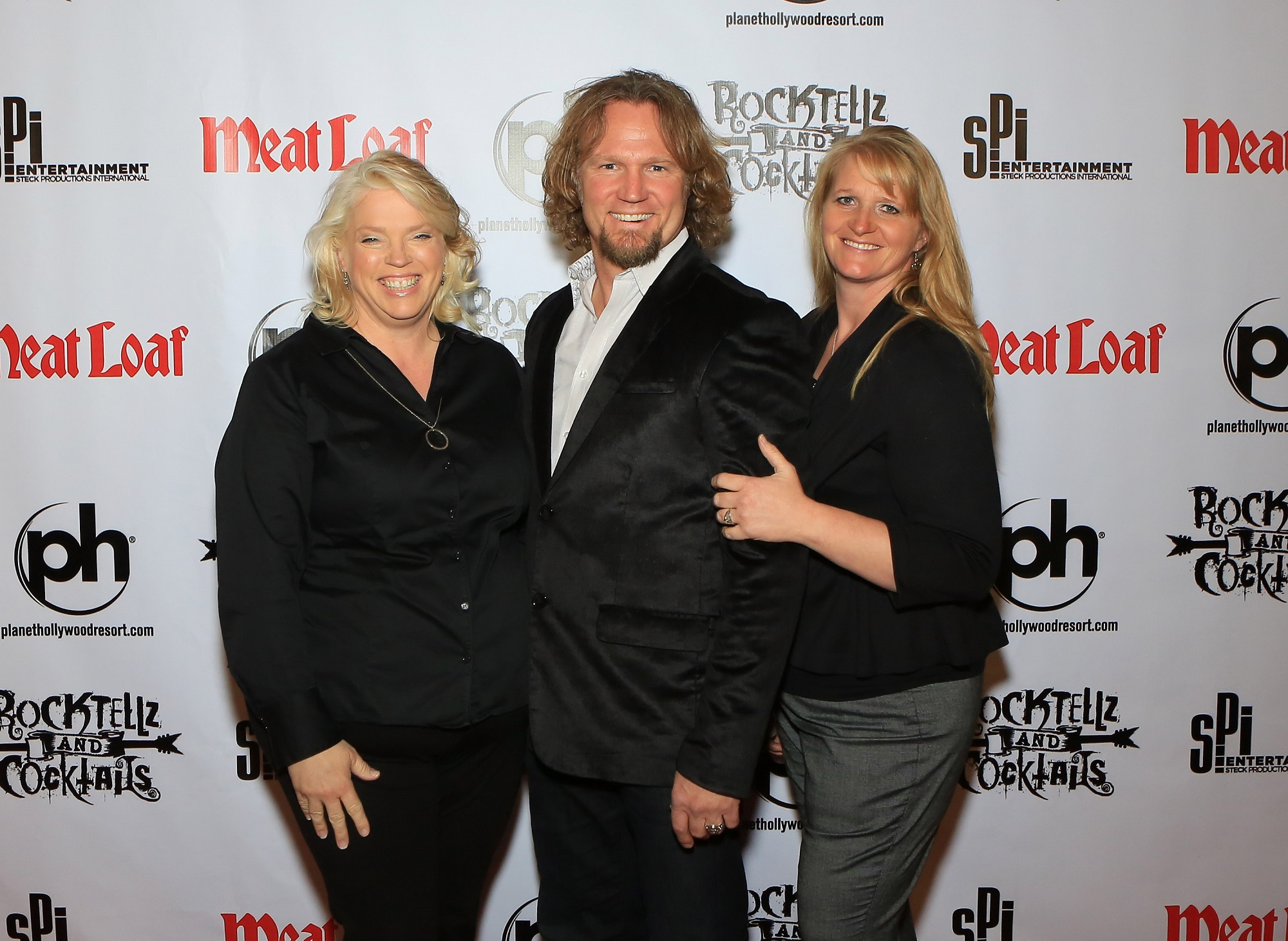 Janelle Brown, Kody Brown, and Christine Brown of Sister Wives