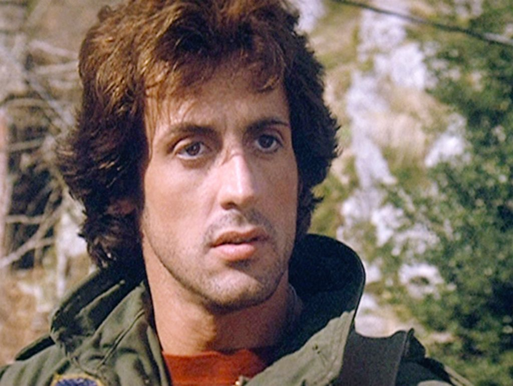 Sylvester Stallone in a jacket