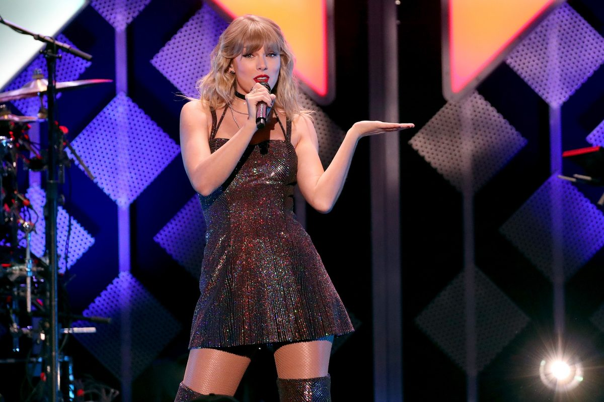 Taylor Swift performs onstage during iHeartRadio's Z100 Jingle Ball 2019 Presented By Capital One on December 13, 2019 in New York City.