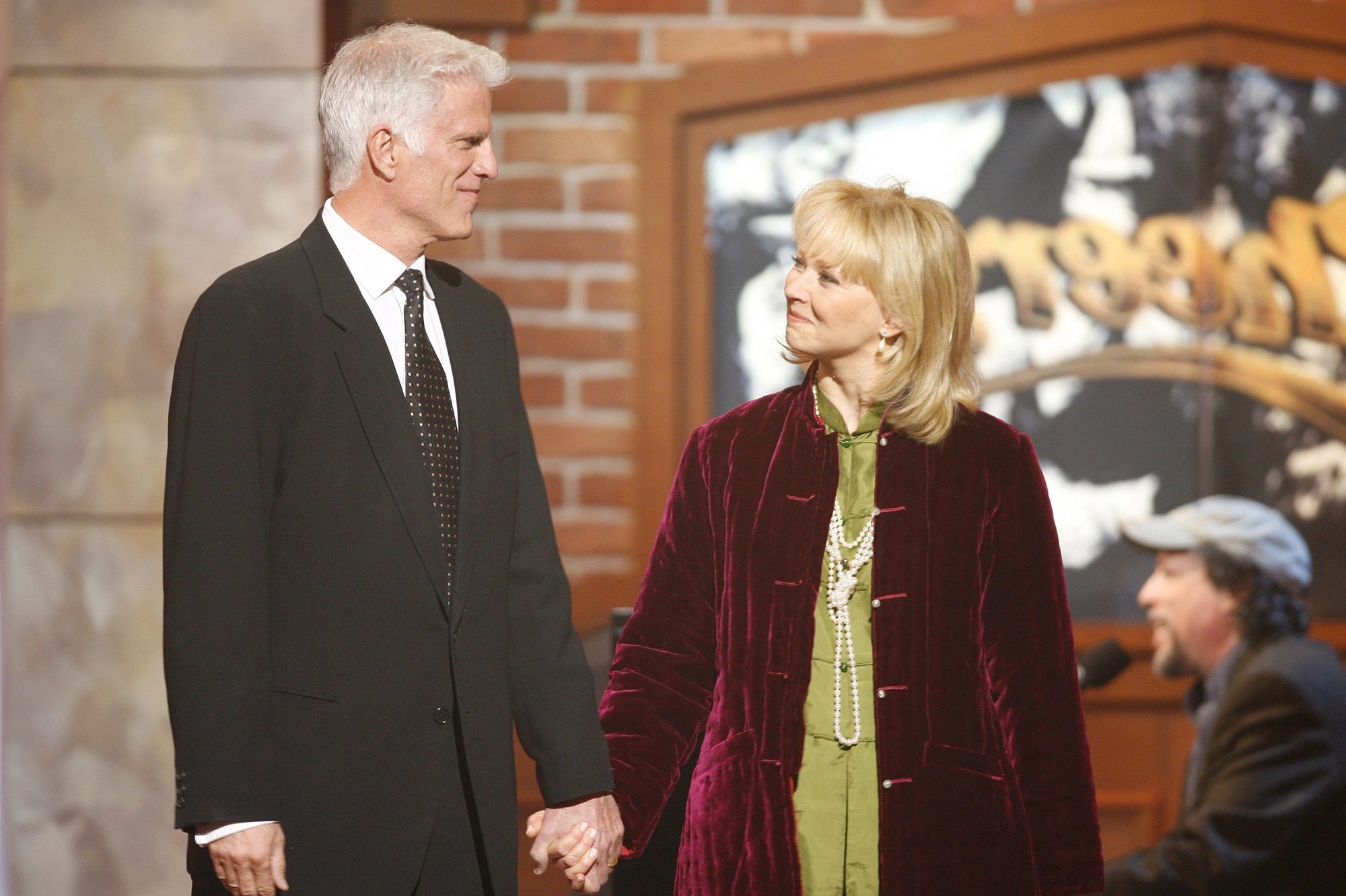 Ted Danson and Shelley Long of Cheers