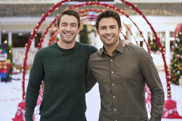 'The Christmas House' Star Jonathan Bennett Gets Emotional About Bringing LGBTQ Representation to the Hallmark Channel