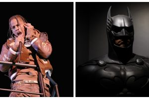 Travis Scott's Brown Batman Suit Goes Viral, But Is There Really a Brown Batsuit?