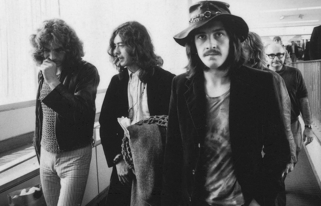 Led Zeppelin on the road