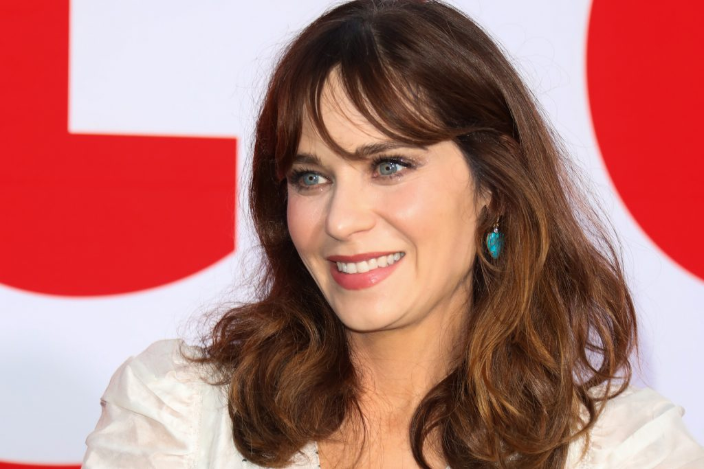 Zooey Deschanel attends the premiere of Universal Pictures' Good Boys 2019