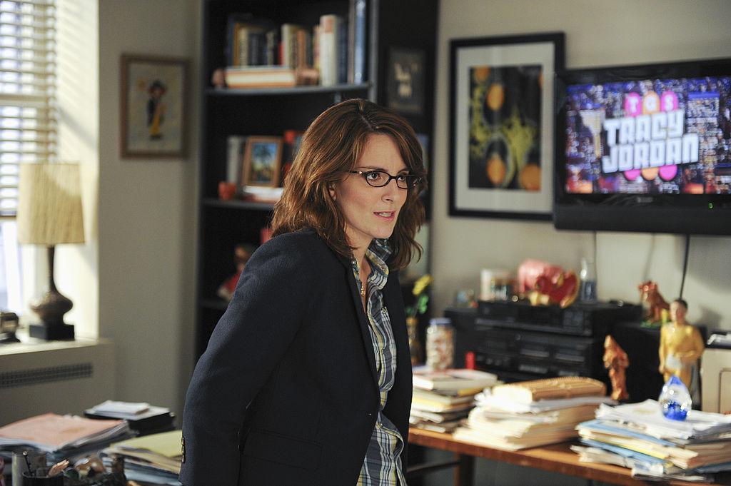 Tina Fey as Liz Lemon in 30 Rock Season 5
