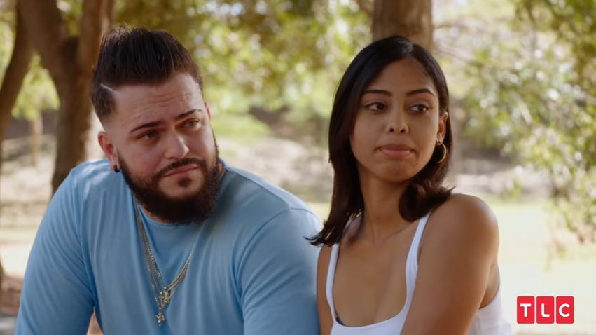 Alejandro and Nicole in 'The Family Chantel'