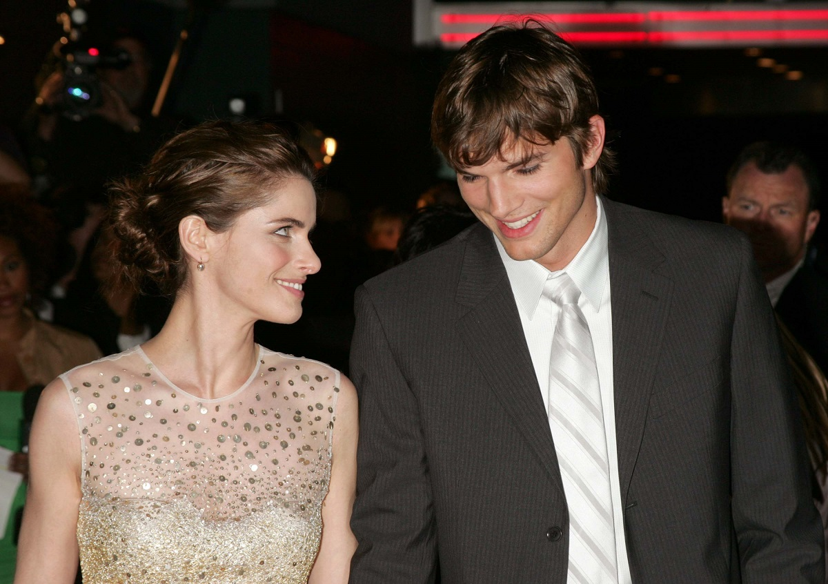 Amanda Peet and Ashton Kutcher