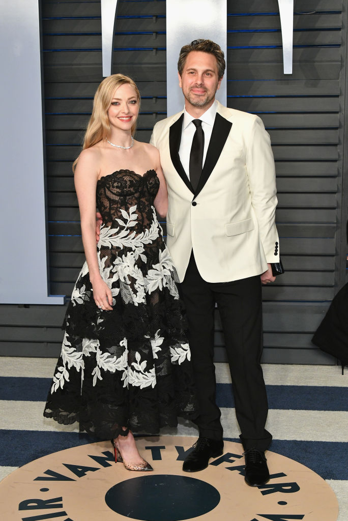Amanda Seyfried and husband Thomas Sadoski