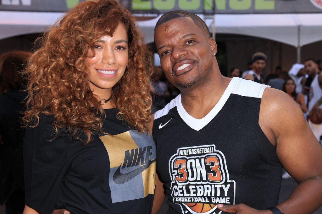 Amy Correa Bell and Ricky Bell
