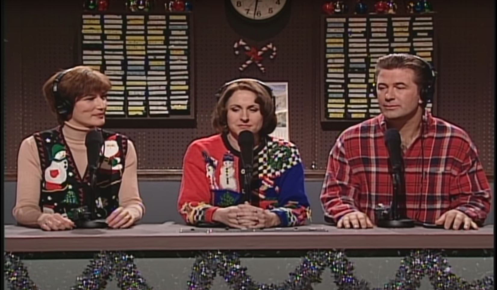 Ana Gasteyer, Molly Shannon, and Alec Baldwin on 'Saturday Night Live'