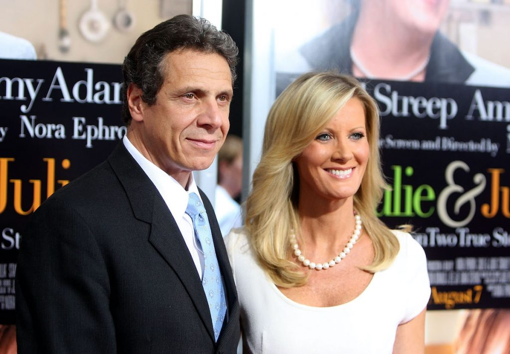 Andrew Cuomo and TV personality Sandra Lee