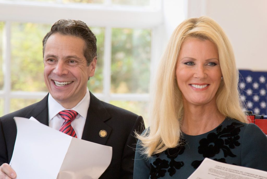 Governor Andrew Cuomo and Sandra Lee