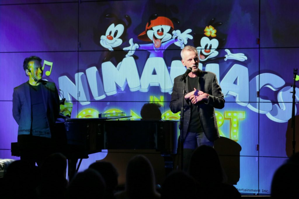 Randy Rogel and Rob Paulsen perform at 'Animaniacs LIVE!'