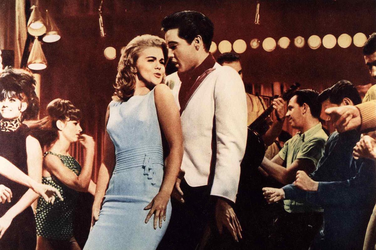 Elvis Presley and Ann-Margret in 1964's Viva Las Vegas