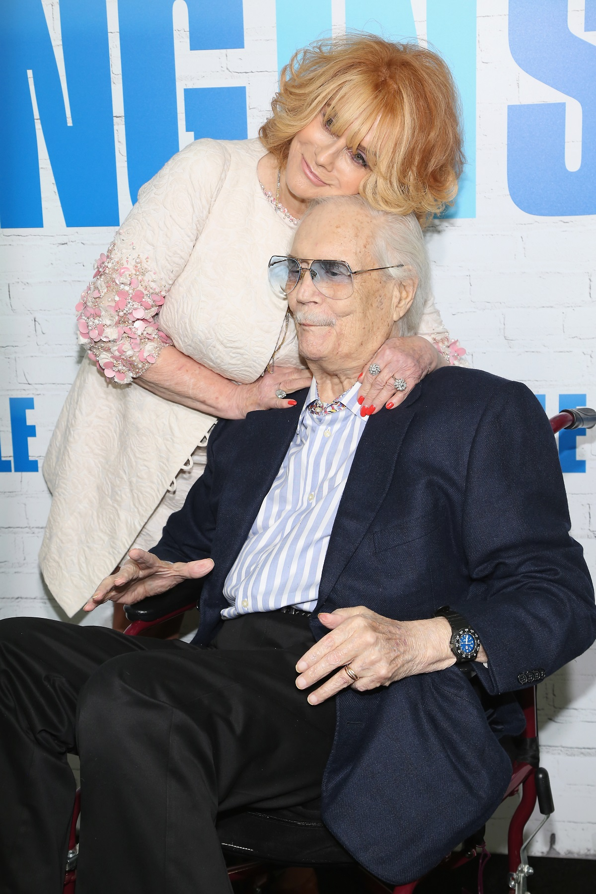 Ann-Margret and Roger Smith in 2017