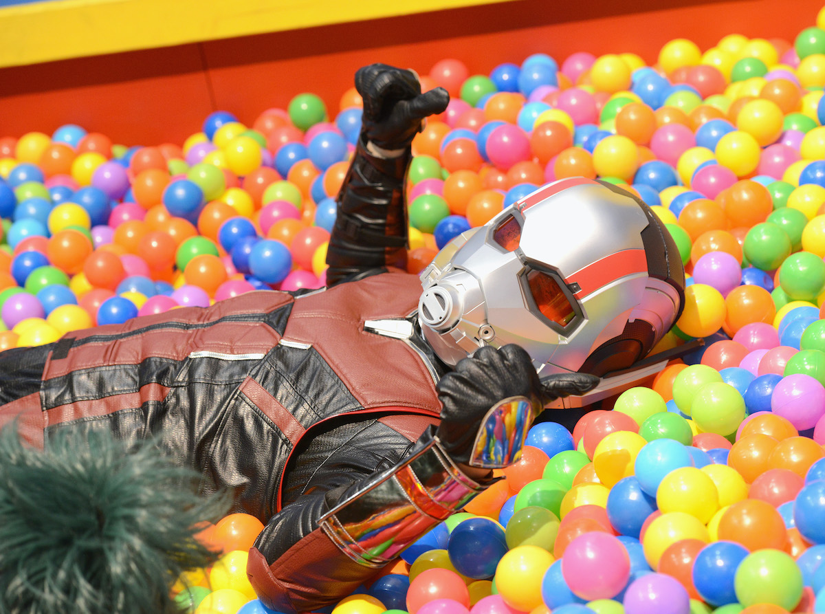 Ant Man at the 2019 Anime Expo