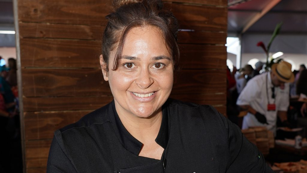Chef Antonia Lofaso attends The Players Tailgate 2020 Miami by Bullseye Event Group on February 02, 2020 in Miami, Florida.