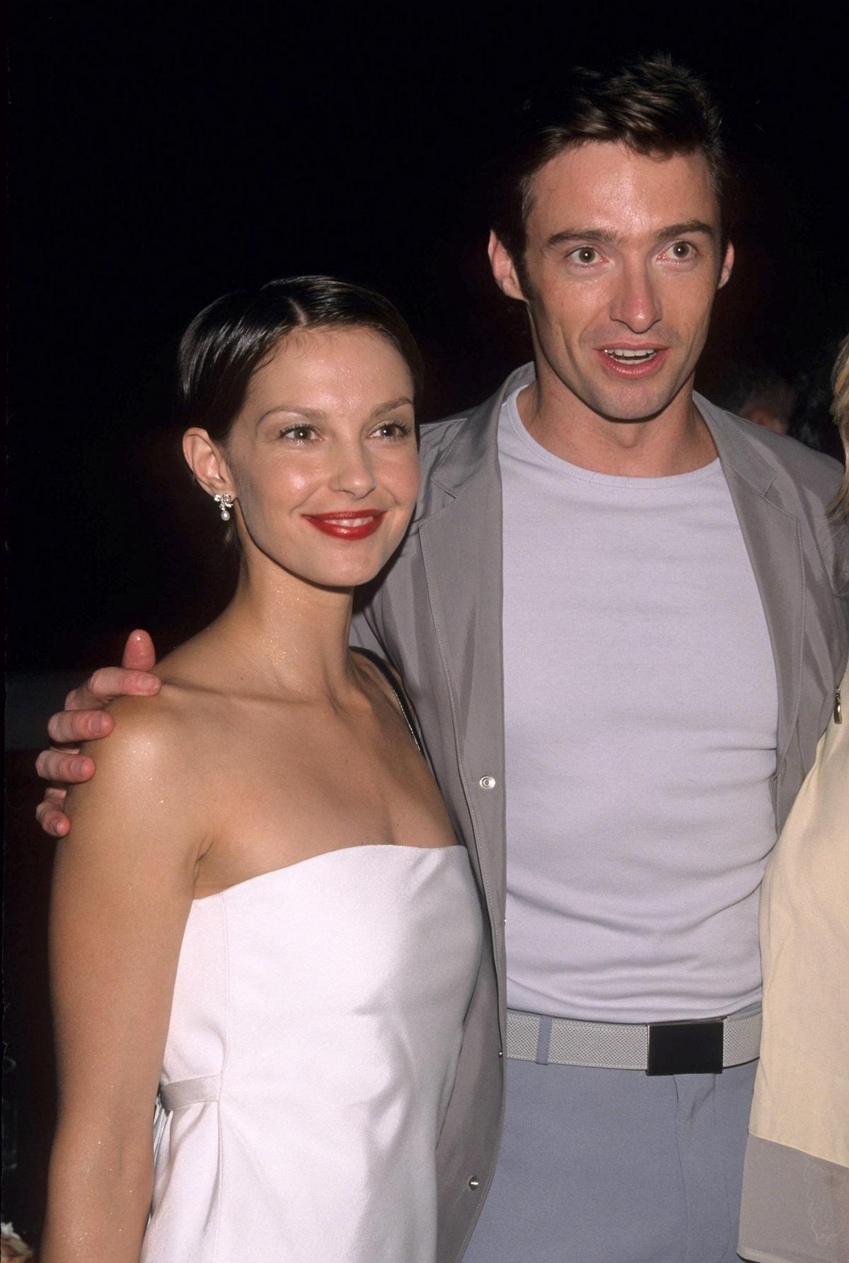 Ashley Judd and Hugh Jackman