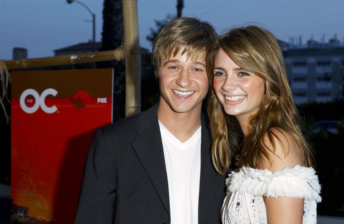 Ben McKenzie and Mischa Barton attend a kickoff party for 'The O.C.'