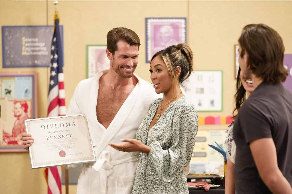 'The Bachelorette' Bennett and Tayshia Adams