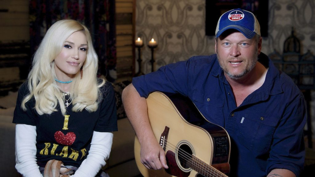 Gwen Stefani and Blake Shelton on 'The Tonight Show with Jimmy Fallon'
