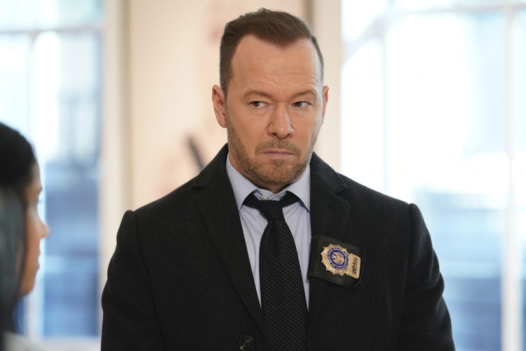 Donnie Wahlberg as Danny Reagan on 'The Office'