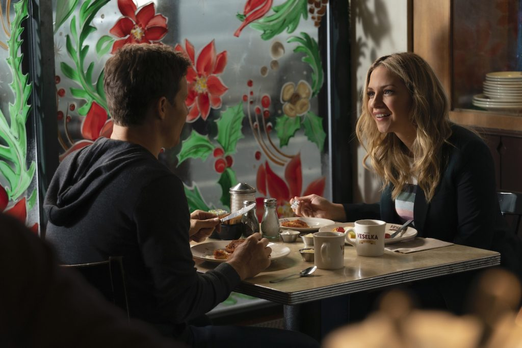 Will Estes as Jamie Reagan, Vanessa Ray as Eddie Janko on 'Blue Bloods'