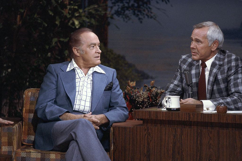 Bob Hope and Johnny Carson on The Tonight Show With Johnny Carson