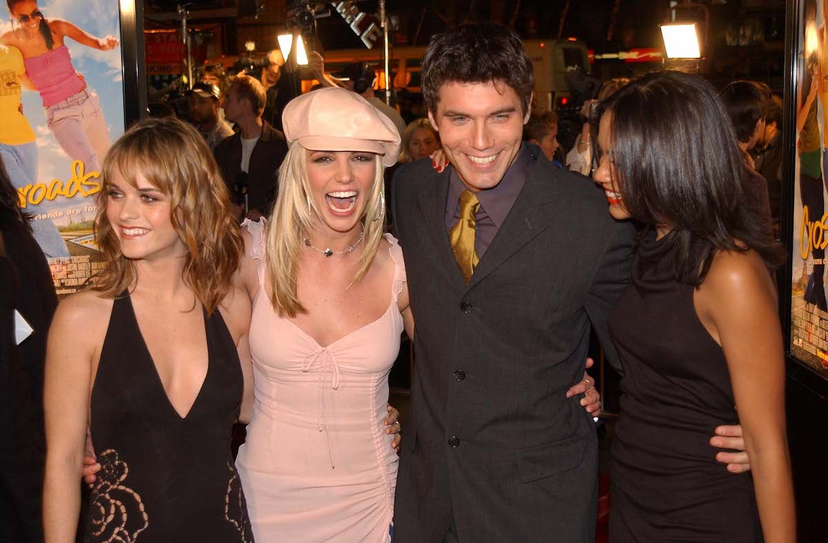 Britney Spears at 'Crossroads' party