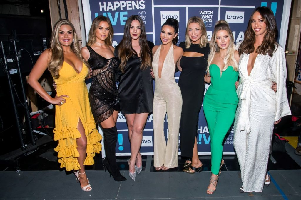 Brittany Cartwright, Lala Kent, Kate Maloney, Scheana Shay, Stassi Schroeder, Ariana Madix and Kristen Doute