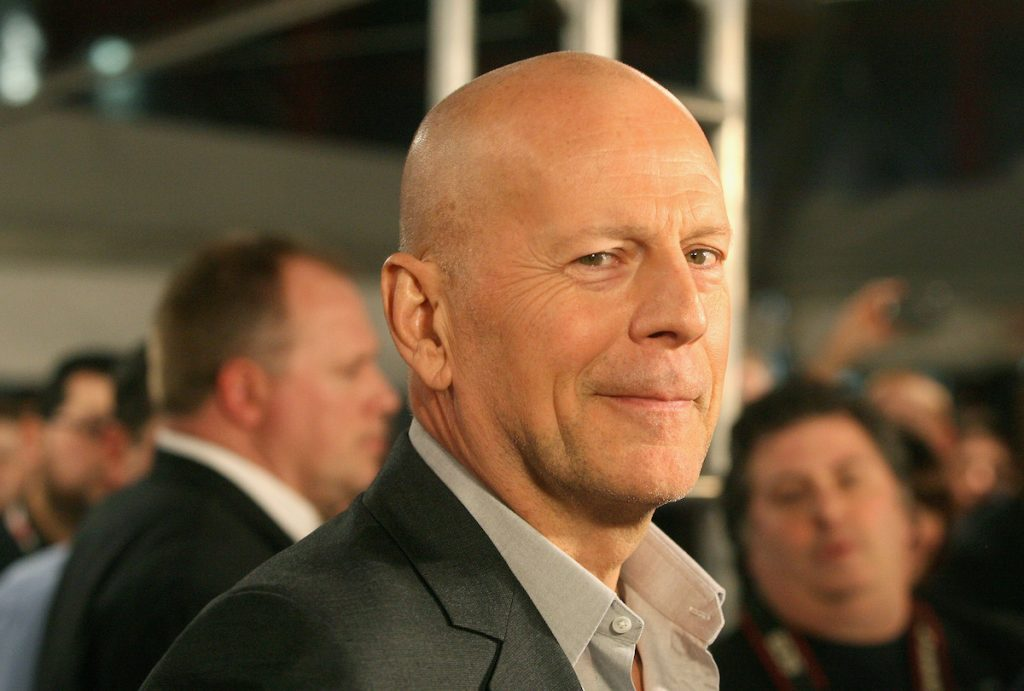 """Bruce Willis attends the """"A Good Day To Die Hard"""" Fan Celebration"""