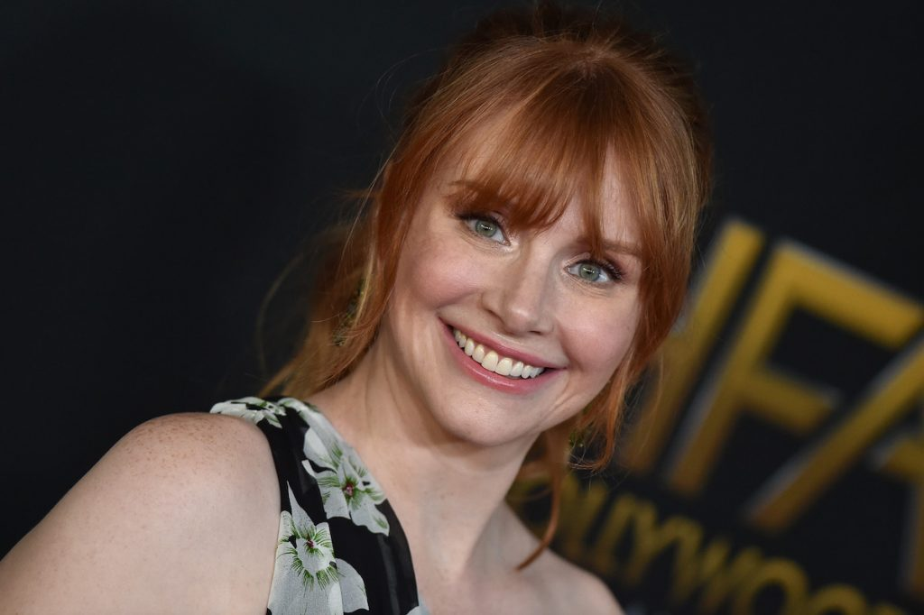 Bryce Dallas Howard arrives at the 21st Annual Hollywood Film Awards at The Beverly Hilton Hotel on November 5, 2017 in Beverly Hills, California.