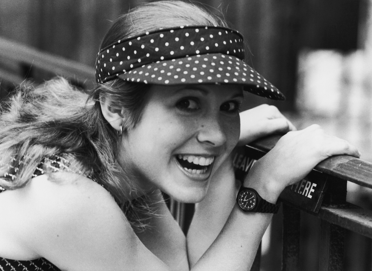 Carrie Fisher in 1980