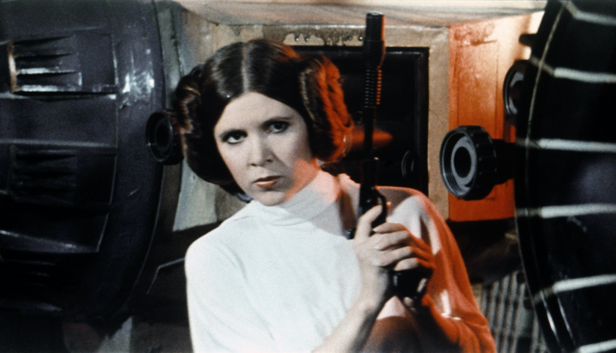Carrie Fisher in 'Star Wars: Episode IV -- A New Hope'