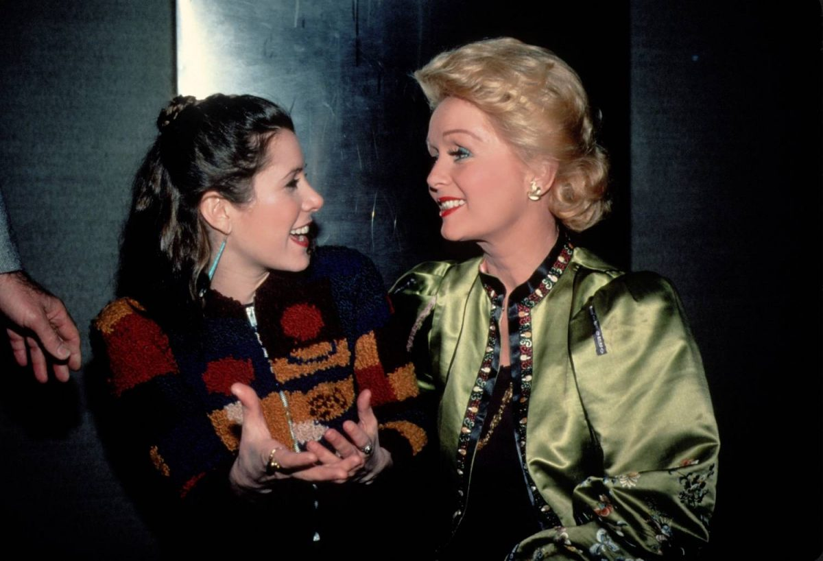 NEW YORK - CIRCA 1983: Carrie Fisher and Debbie Reynolds circa 1983 in New York City.