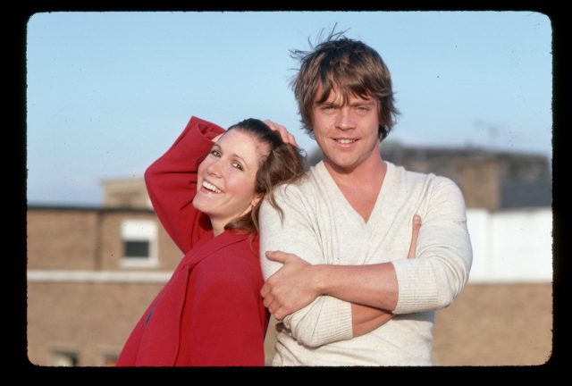 When Carrie Fisher and Mark Hamill Locked Lips, the Star Recalls 'The Rocket Launch Sequence' Was 'Initiated'