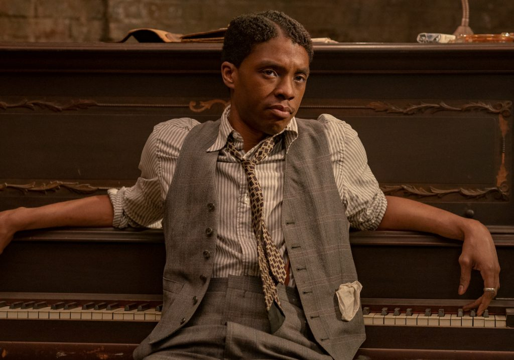 MA RAINEY'S BLACK BOTTOM (2020) Chadwick Boseman as Levee | David Lee/Netflix